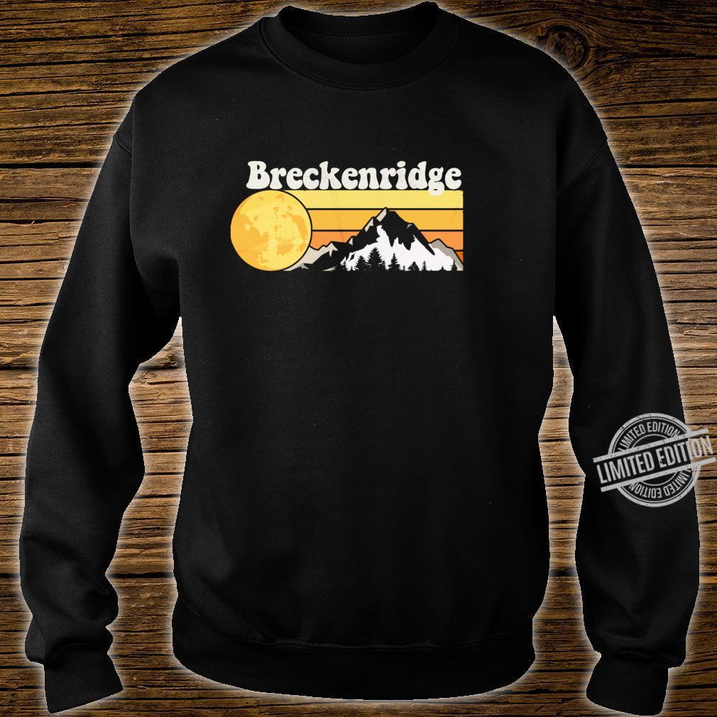 Vintage Retro 70s Breckenridge, CO Shirt sweater